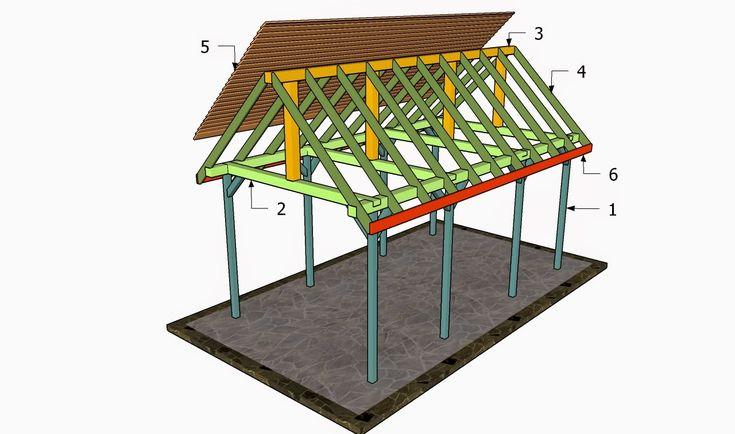 anleitung pavillon selber bauen