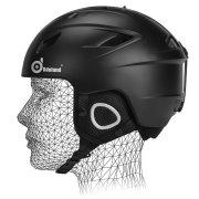 Odoland Unisex Ski Helmet for Adult Men Women Shockproof Ski Goggl ... post by: Main Street Mobile Billboards