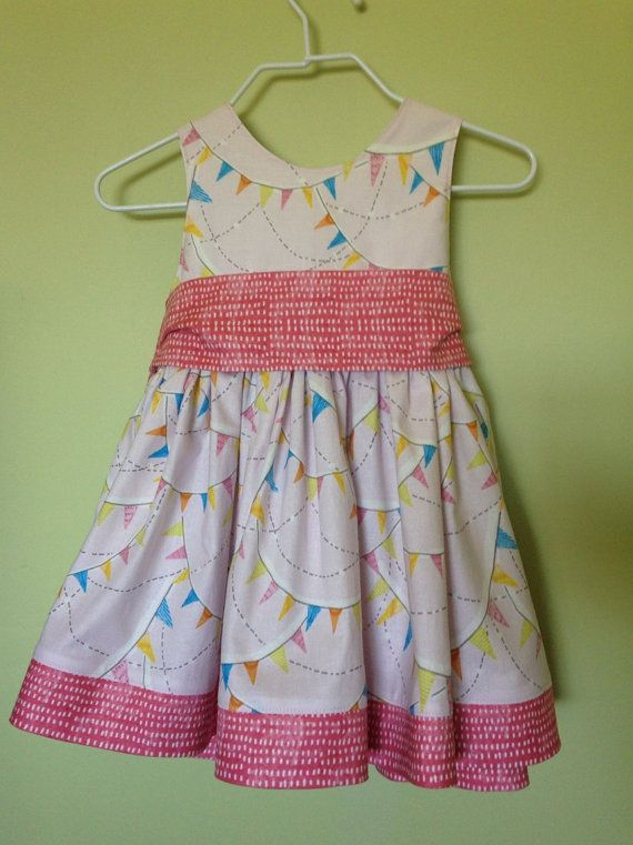 First Birthday Girl // First Birthday Dress // Made by TheModSewer, $45.00