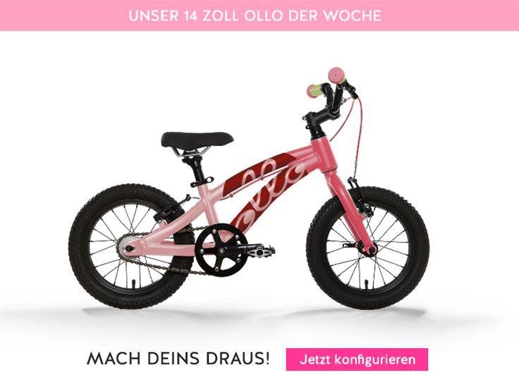 Unser Bike der Woche! Diesmal eins für die kleinen Ladies. We just love pink <3 Mehr Auswahl unter https://ollo-bikes.com/1_020916  #mixdeinollo #pink #rosa #customizedbike #mixdeinollo #summersale #kidsbike #Kinderfahrrad #kinderrad #fahrrad #kidsonbikes #familie #bike #cycling #ollo #ollobikes #hamburg #ride #14zoll #onlineshop #junge #mädchen #kinder #littleprincess