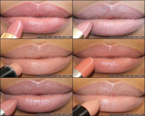 nude lipstick for black women | ... lipstick in nougat, L'Oreal color riche lipstick in no.231 and get in lip gloss