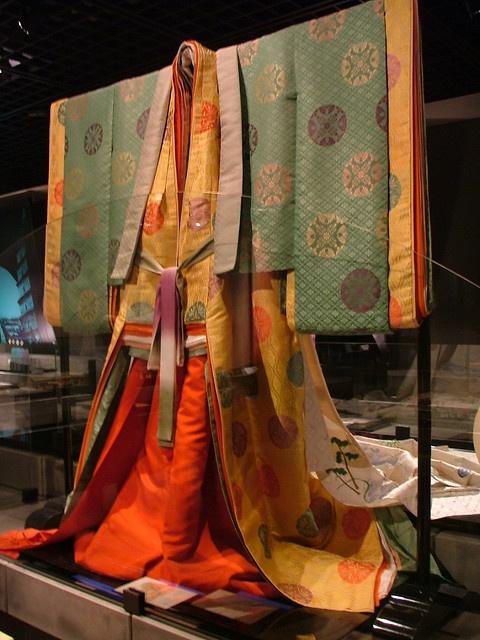 Heian Era costume  Kyoto museum