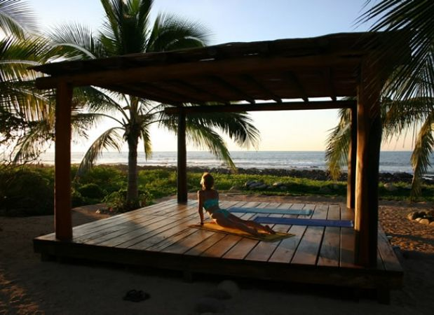 Yoga Deck Surf Check... Go there - http://wavecation.com/punta-pelicano