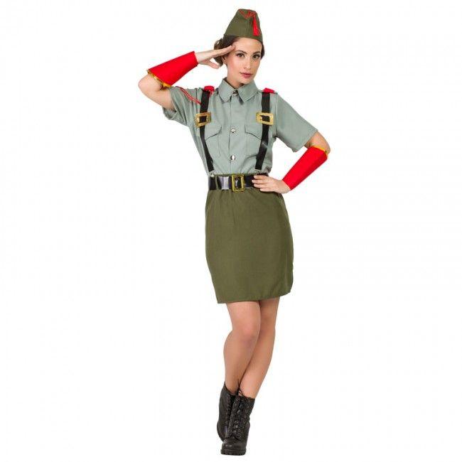 Déguisement Militaire Légion pour femme #costumespouradultes #nouveauté2017