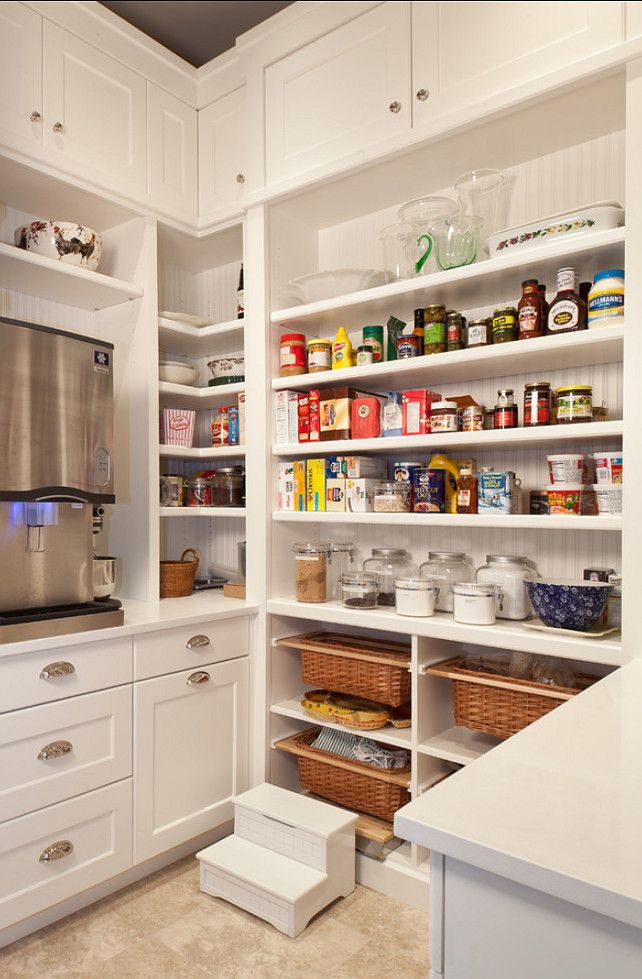 Pantry. Pantry Design. Kitchen Pantry with smart storage ideas. Pantry