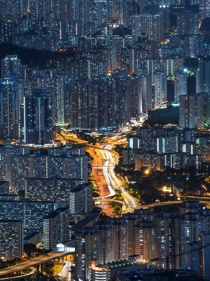 Digital Love (Hong Kong)  by  Coolbiere. A.: Cityscapes, Hong Kong, Favorite Places, Hongkong, Cities, City Lights, Architecture, Photography