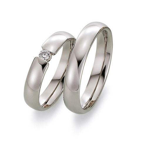 Prachtige witgouden klassike ringen met briljant geslepen diamant  Juwelier Goudsmederij Mariska Timmer Geldermalsen