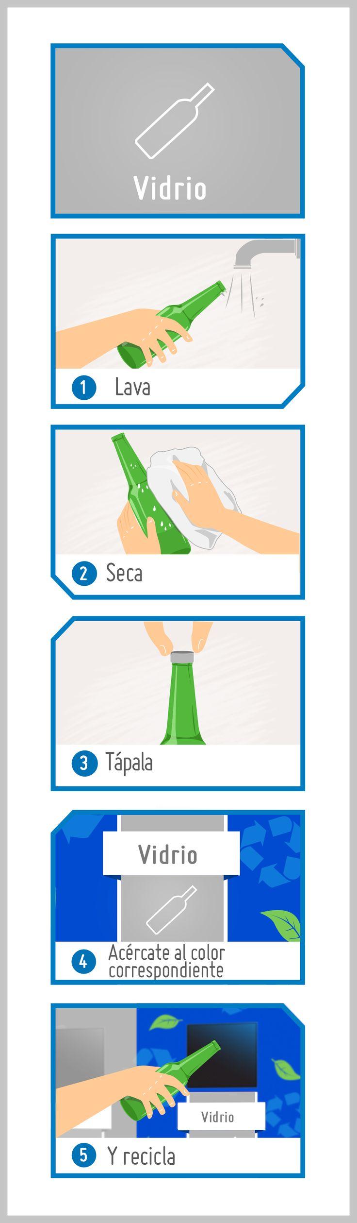 ¿Cómo reciclar? / ¿How to recycle? #recycle #recycling #reciclar #reciclaje #cómohacer #howto #diy #hum #SODIMACRecicla