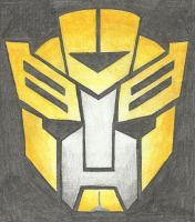 Autobot Insignia - Bumblebee (TFP) by LadyIronhide