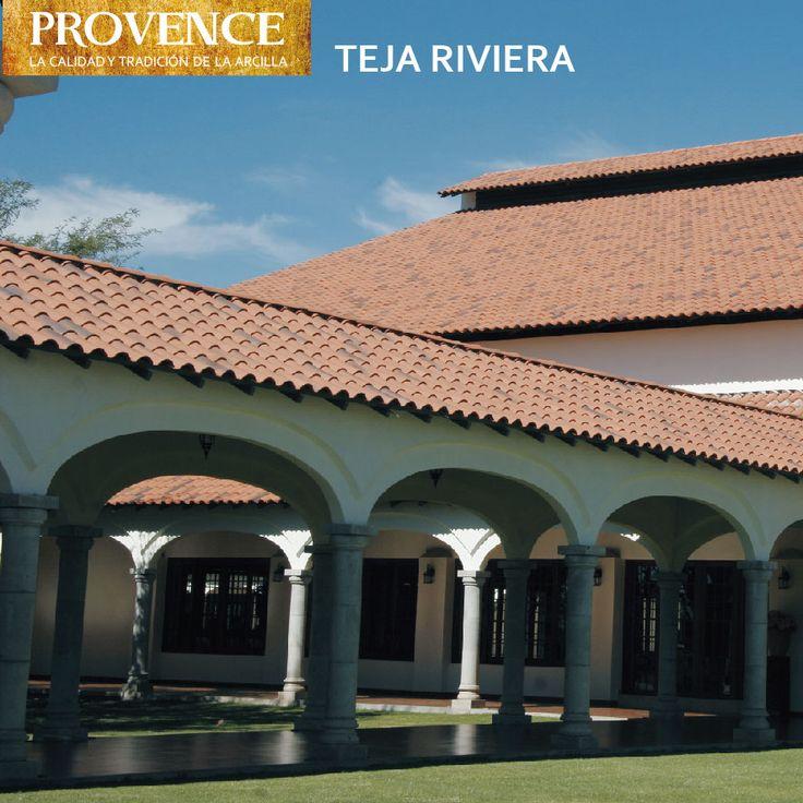 Teja de Arcilla Riviera - PROVENCE - Tejas de Chena