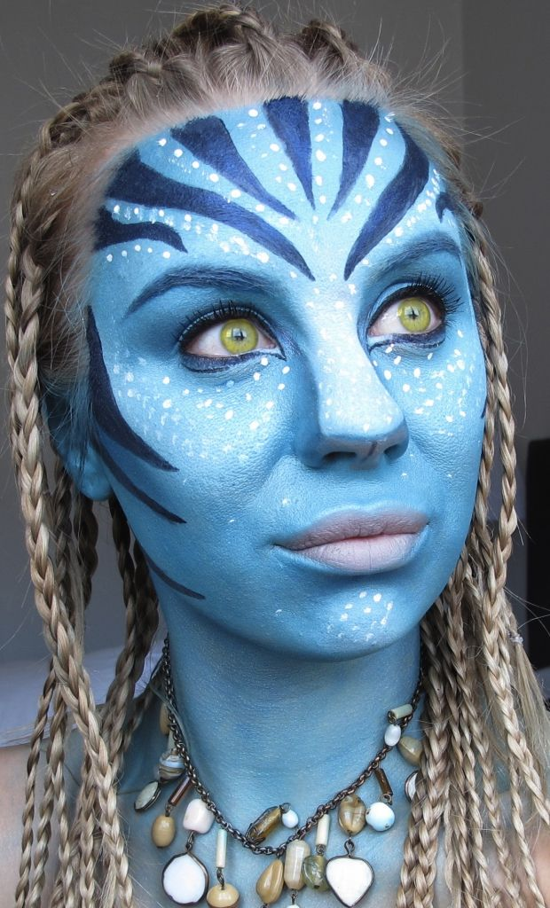 Makeup of the day – Avatar