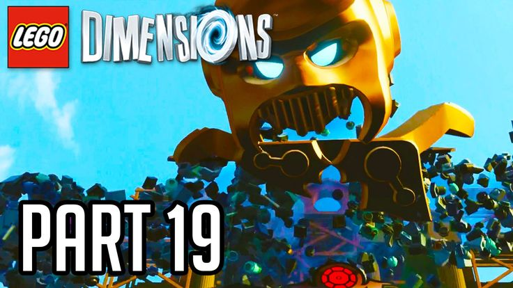 LEGO Dimensions Walkthrough Part 19 - LORD VORTECH BOSS!! (Gameplay PS4/...