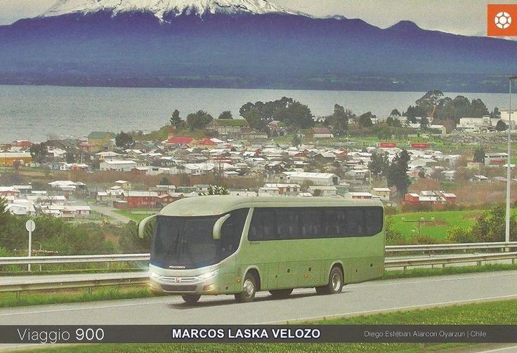 ÔNIBUSLÂNDIA: Modelo de Ônibus Rodoviário G7 Viaggio 900 da MARC...