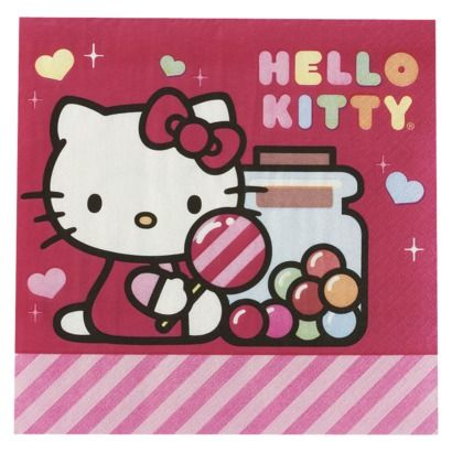 ... Birthday ~ Hello Kitty on Pinterest  Sacks, Hello kitty birthday cake