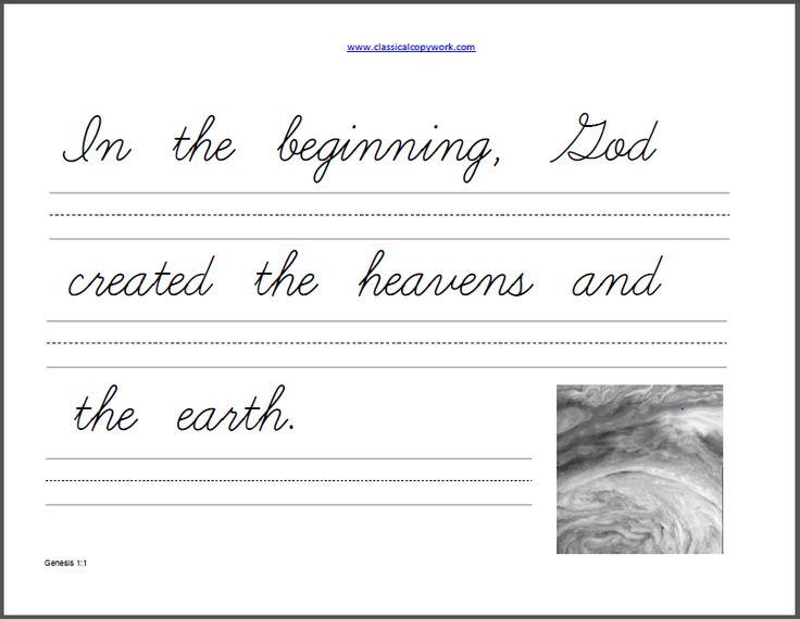 48 besten Handwriting Bilder auf Pinterest   Schule, Handschriften ...