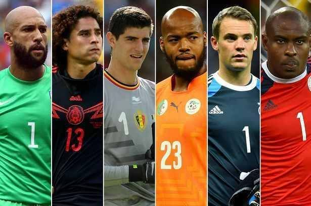 World cup goal keepers