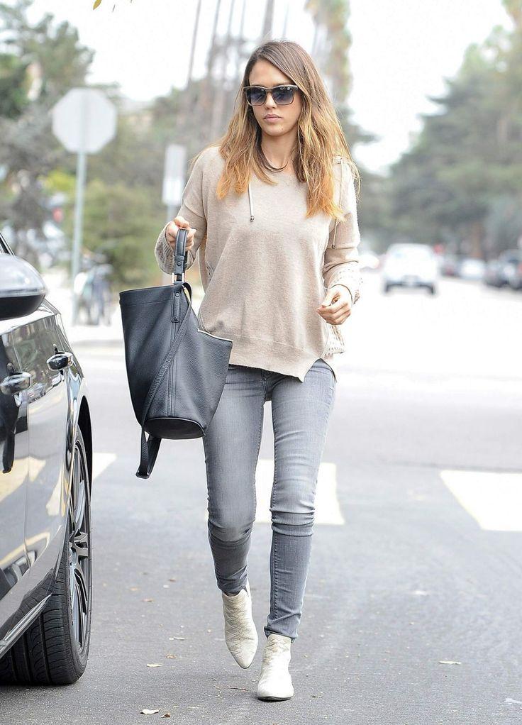 Best 25 Jessica Alba Casual Ideas On Pinterest Jessica Alba Style Jessica Alba Outfit And