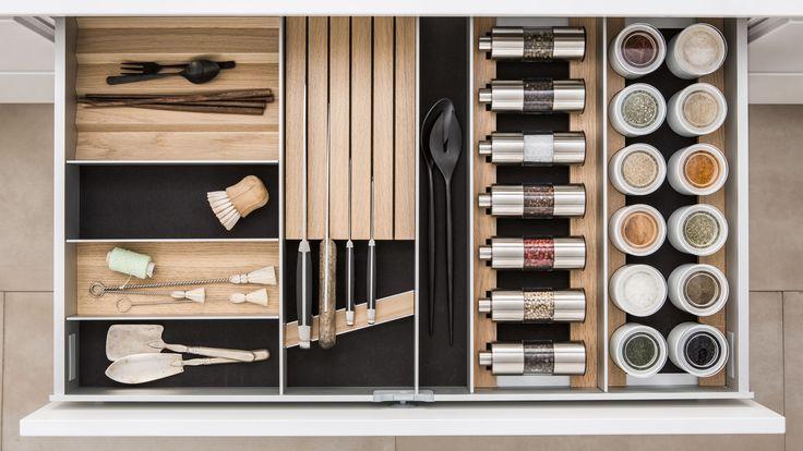 Aménagement Intérieur de vos tiroirs et coulissants - SieMatic