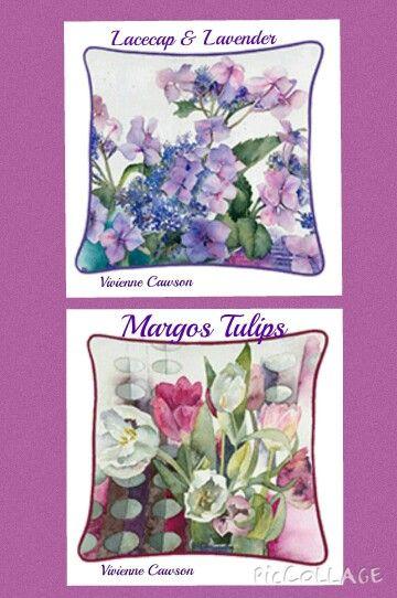 VIVIENNE CAWSON DEISIG ART CUSHION PILLOW CASE CHRISTMAS BIRTHDAY  URL: http://pages.ebay.com/link/?nav=item.view&id=271962782237&alt=web