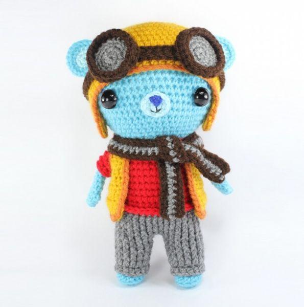 Basil The Bear Amigurumi Pattern