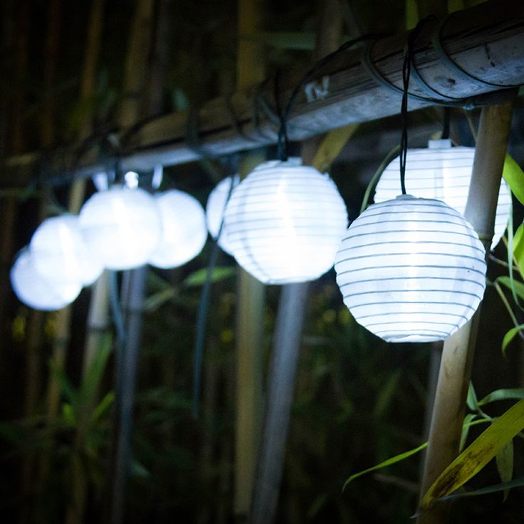 Lantern 10 LED Solar String Lights Solar Powered Christmas Light Decorative Lighting for Home Garden Patio Lawn Party Decoration #Affiliate