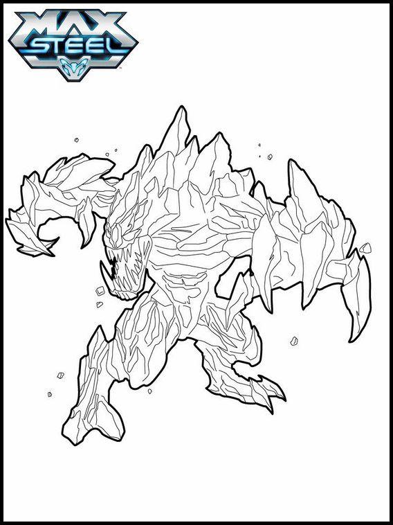 Desenhos Para Colorir Para Crianças Para Imprimir Max Steel