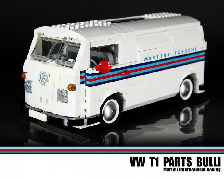 VW racing parts van