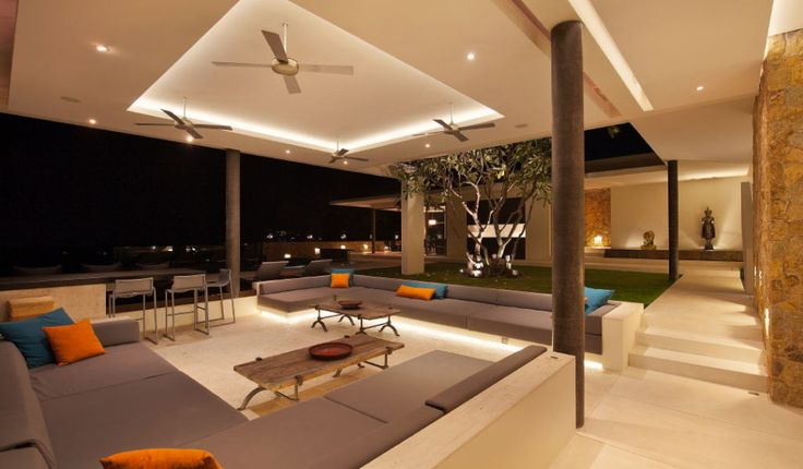 Villa:Breathtaking Natural Spectacle Offered By Modern Contemporary Holiday Villas Retreat Planning In Koh Samui Island Thailand Adorable Ro...