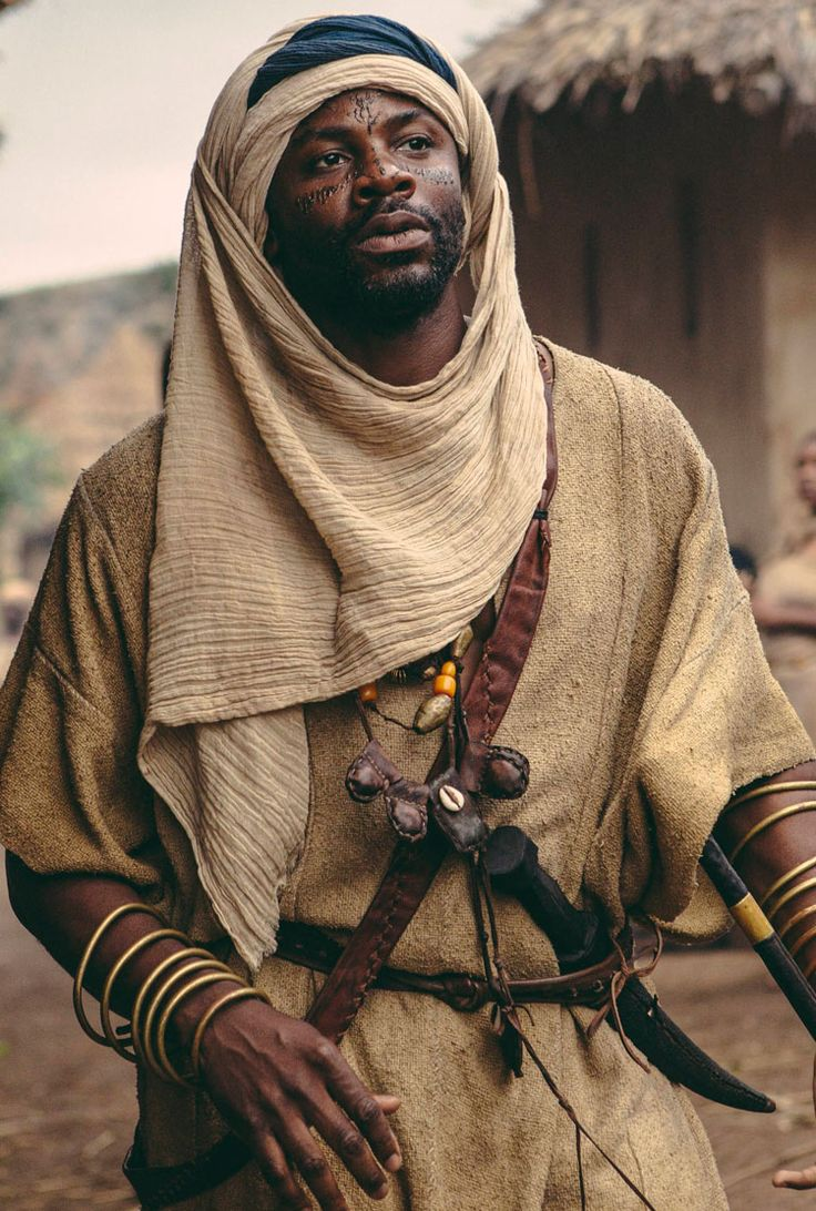 Derek Luke as Silla Ba Dibba -- Roots Cast -- History.com