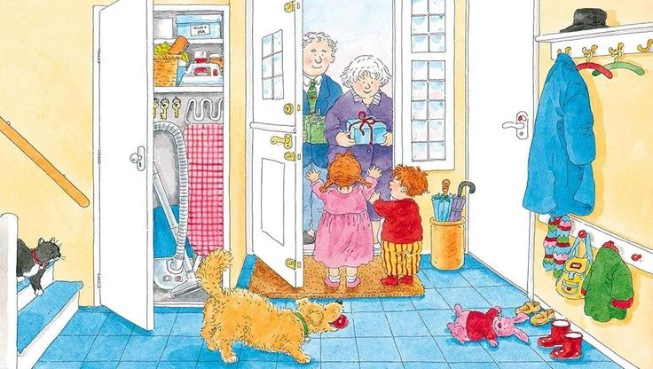 Familie: praatplaat 'bij opa en oma'