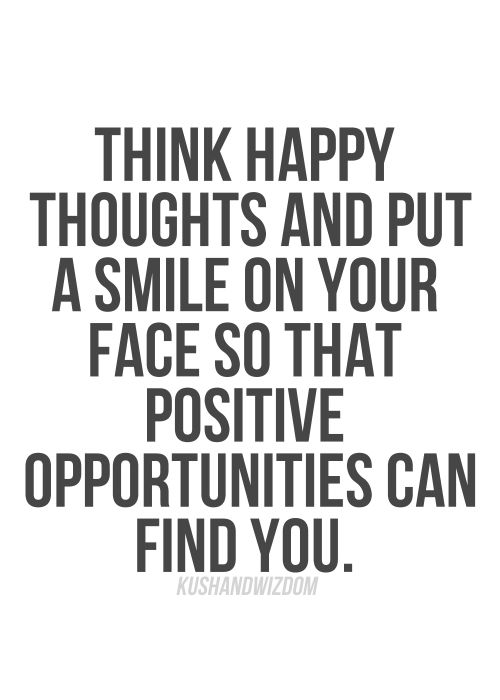 Happy Thoughts Quotes Custom 291 Best Quotes Images On Pinterest  Business Entrepreneur . Inspiration Design