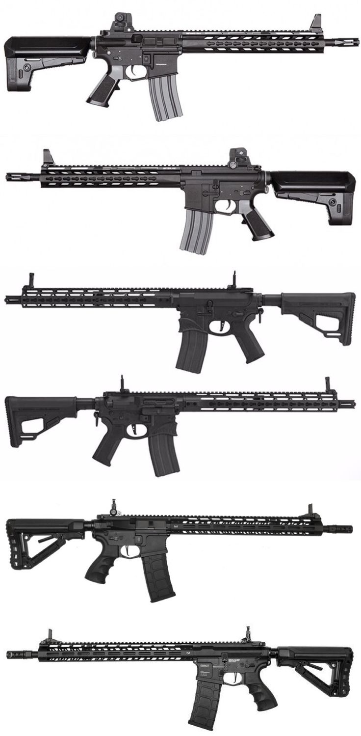 """My airsoft gun collection M4/AR15. The first gun what I got was the Krytac Trident SPR, second gun the Ares EMG Hellbreaker 15"""" and the last gun is G&G TR16 MBR 556WH G2. #ggarmament #emgarms #krytacarms #aisoft #airsoftgun #airsoftinternational #airsoftguns"""