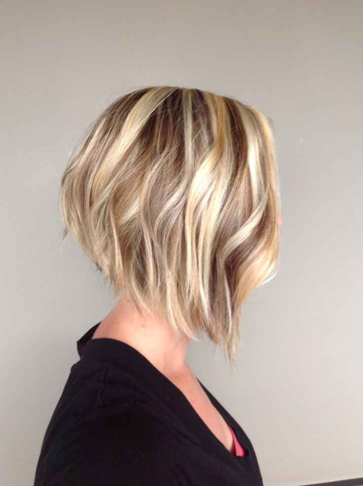 Short Angled Bob Hairstyles with Side Bangs |Medium Angled Bob With Side Bangs