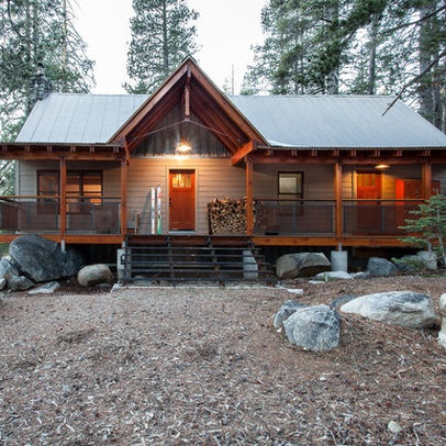 Snow county cabin remodel addition atmosphere design for Small cabin additions
