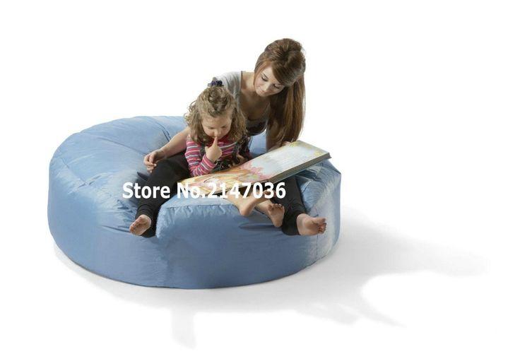Aqua blue island bean bag chair, outdoor sofa cover , mom and children's reading book chair #Affiliate