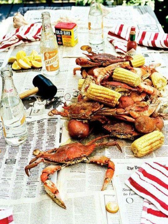 Cracking crabs