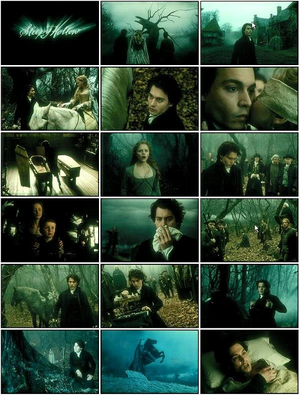 'SLEEPY HOLLOW' One of Tim Burton's best (so it's obviously not from the last decade...with an exception for Sweeney Todd).