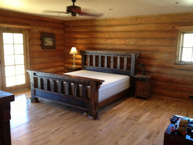 bedroom compact bedroom design and rustic wood bed frame feats dim light and wooden flooring homey. Interior Design Ideas. Home Design Ideas