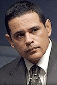 Raymond Cruz.      See The Closer then see him in Breaking Bad.  An actor I predict much from in the coming years.