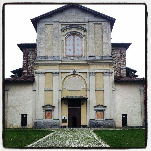 Chiesa di San Rocco a Somma Lombardo. #iduenoci www.bedandbreakfast-iduenoci.it