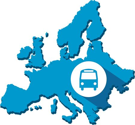 Fernbus Karte