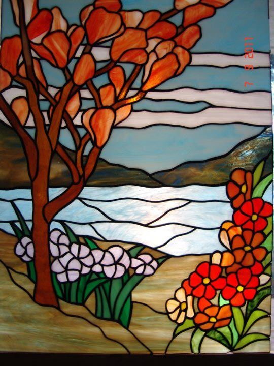17 Best Images About Stained Glass Scenery On Pinterest