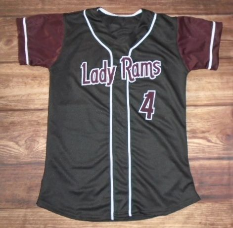 Take a look at this custom jersey designed by Gentry Lady Rams Softball and created by Garb Athletics! Create your own custom uniforms at www.garbathletics.com!