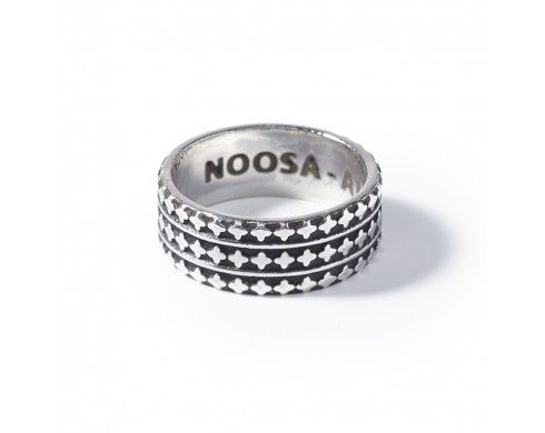 arabesque ring - oxidised silver - Symbol Collection - NOOSA-Amsterdam Petite Collection