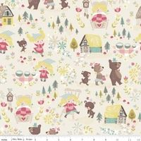 Riley Blake Goldilocks & The 3 Bears - 1/2 yard