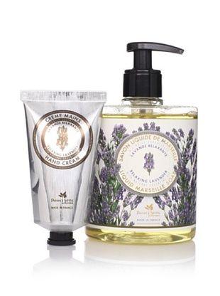 49% OFF Panier des Sens Relaxing Lavender Liquid Soap & Hand Cream, Set of 2