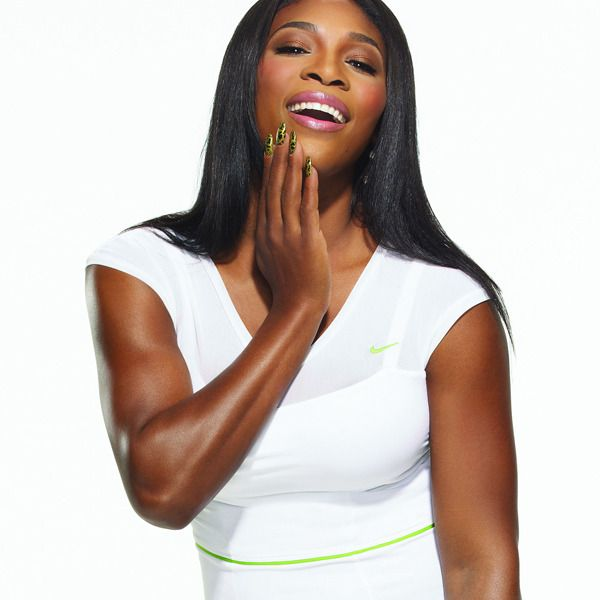 Serena Williams - A mix of all three somatotypes, but mostly a meso.