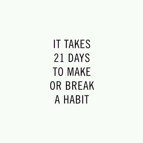 quote, habits, and motivation image