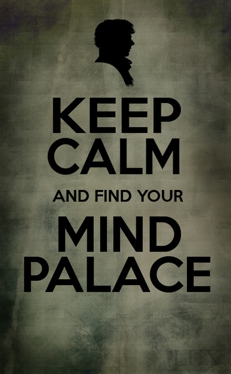 Sherlock. Keep Calm and Find Your Mind Palace! Merry Christmas!