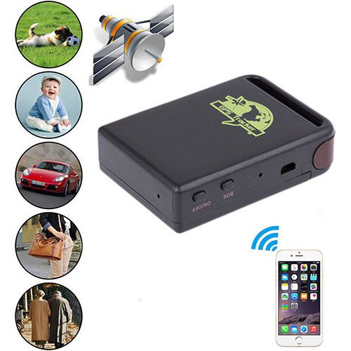 TK 102 GPRS portable tracker.